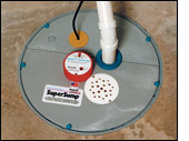 Air Tight Sump Lid with Floor Drain